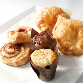 Image of servings for mini breakfast basket