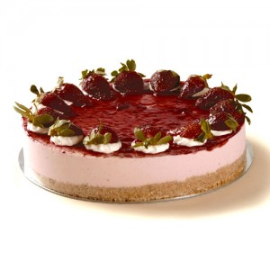 Strawberry Cheesecake, Image by Square Catering