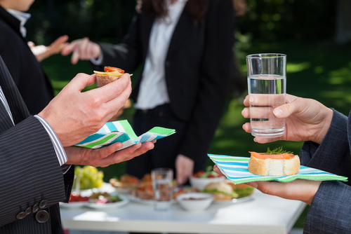 people enjoying Corporate Events Catering in Sydney