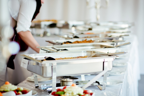 Caterers in North Sydney in action