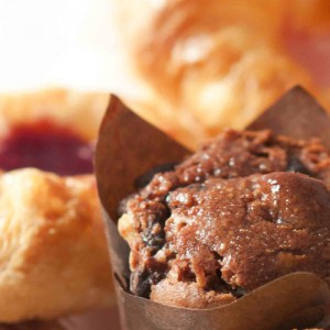 Image a chocolate mini muffin by Square Catering
