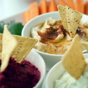 Dips platter image by Square Catering