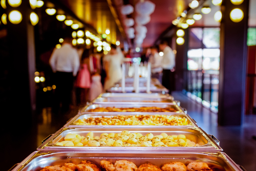 a food catering function by square catering Australia