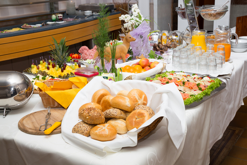 an arrangement for breakfast catering in North Sydney