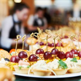 Breakfast and treats, Image by Square Catering