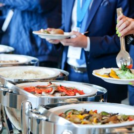 Photo of a corporate catering in Sydney, Image by Square Catering