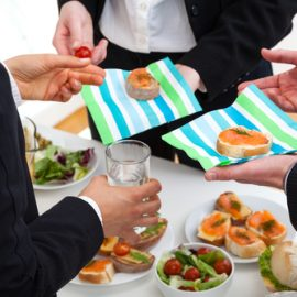 Image of a corporate catering in North Sydney