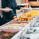 image of a food catering service for wedding